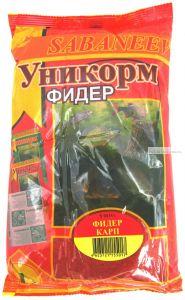 "Прикормка рыболовная  Sabaneev ""Уникорм"" Карп, 1 кг"