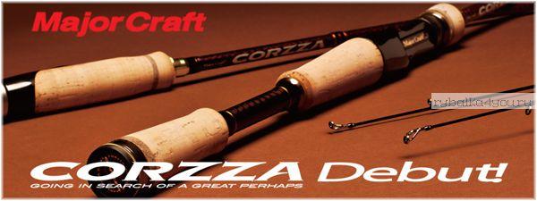 Кастинг Major Craft Corzza CZC-652UL/BF 1.96м / тест 0.8-7гр