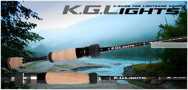 Кастинг  Major Craft K.G.LIGHTS KGL-762M/B 2.29м / тест 10-35гр