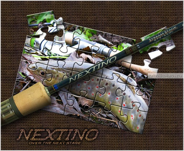 Спиннинг  Major Craft Nextino Stream Category NTS-762ML 2.29м / тест 3-12гр
