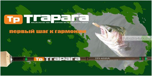 Спиннинг  Major Craft Trapara TPS-802MX 2.44м / тест  5-18гр