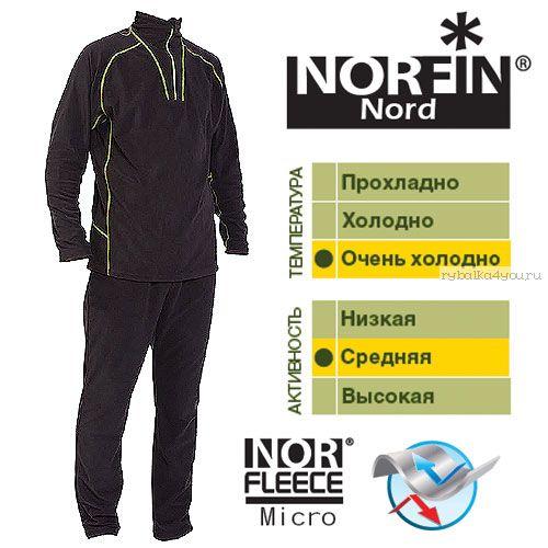 Термобельё Norfin Nord (Артикул: 3027002)