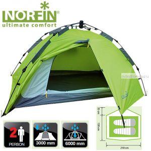 Палатка автоматическая 2-х местная Norfin ZOPE 2 NF-10401