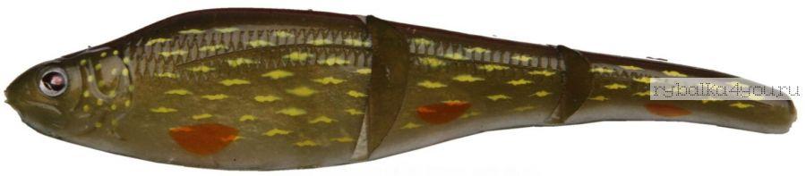 Sebile Magic Swimmer Soft 130mm / цвет SP30 / 19гр (3 приманки + крючок + груза)