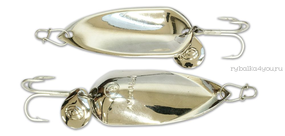 Купить Блесна Kosadaka Grav Spoon 60мм / 21 грамм Silver