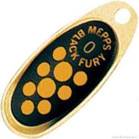 Купить Блесна Mepps Comet Black Fury цвет OR/JN / №1 3.5гр