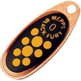 Купить Блесна Mepps Comet Black Fury цвет CU/JN / №2 4.5гр