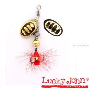 Блесна вращающаяся Lucky John BONNIE BLADE №01/ 3,5гр / цвет: 001