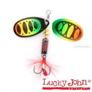 Блесна вращающаяся Lucky John BONNIE BLADE №05 / 13,4гр / цвет: 008