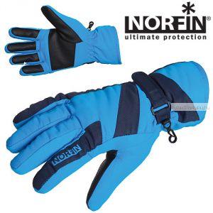 Перчатки Norfin WINDSTOP BLUE 705063