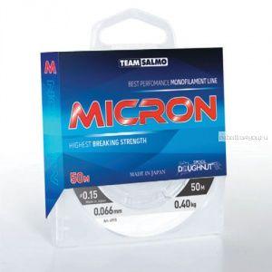 Леска монофильная Team Salmo Micron 50м