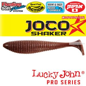 "Виброхвост Lucky John Pro Series JOCO SHAKER 4,5"" / 114,3 мм / цвет F07 / 3 шт"