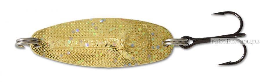 Блесна Kosadaka Micron (тройник) 41 мм / 6 гр / цвет GL