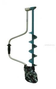 Ледобур Барнаульский Тонар двуручный, 100мм (ЛР-100Д)