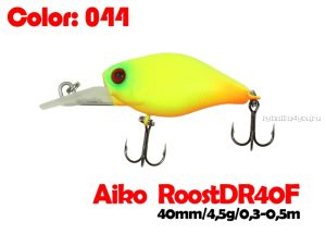 Воблер Aiko Roost cnk DR 40F  40 мм/ 4,5 гр / 0,3 - 0,5 м / цвет - 044