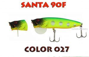 Воблер Aiko SANTA 90F  90 мм/ 16 гр / поверхностный / цвет - 027