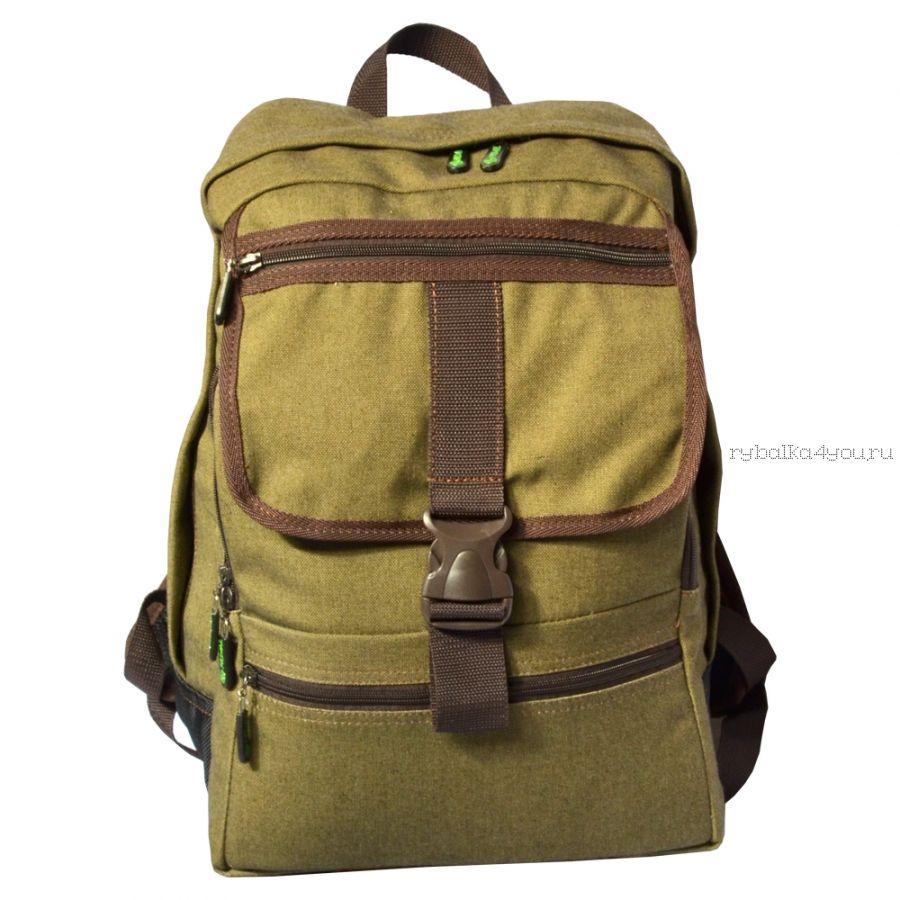 Рюкзак PRIVAL Грот 25 л ткань Oxford600D/черный-хаки
