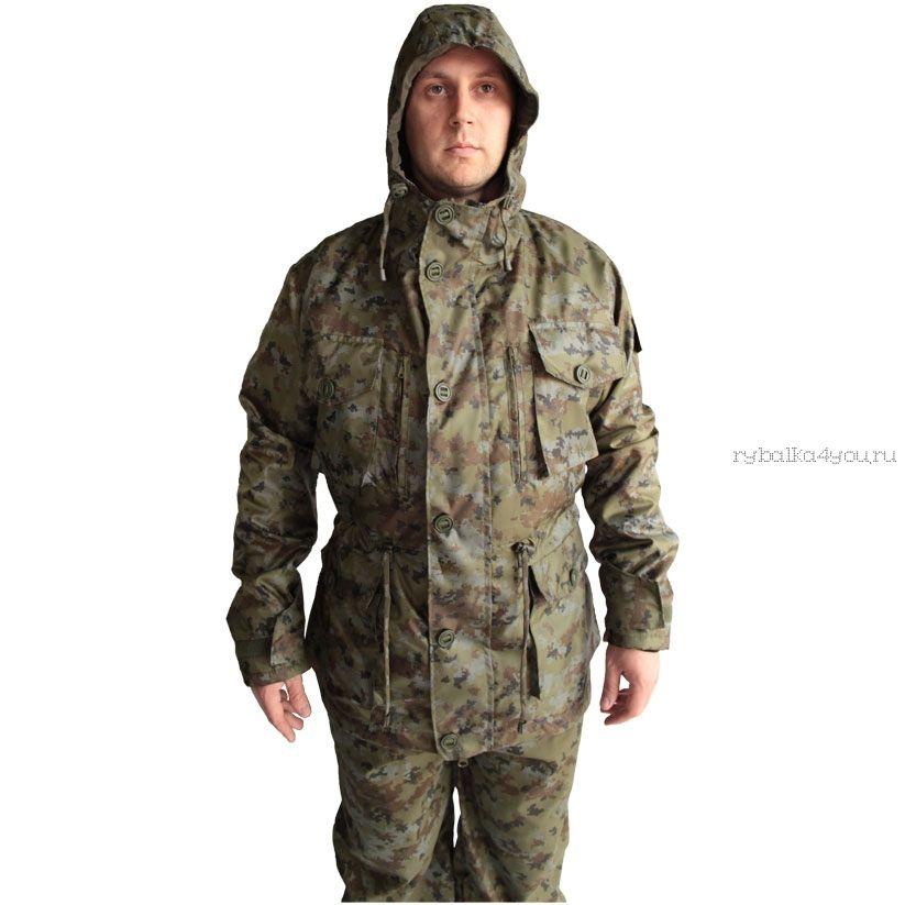 """Костюм демисезонный """"Егерь"""" (на флисе) куртка/брюки, ткань  R/S, флис"""