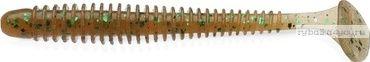 "Виброхвост Keitech Swing Impact 4,5"" 11,4 см / 8,9 гр / цвет - EA02 Peach Green FLK.(упаковка 6 шт)"