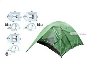 Палатка Reisen Muritz 4 (woodland)