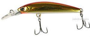 Воблер Jackall Midia 53F 55 мм / 2,8 гр /плавающий / цвет:  haku red & gold