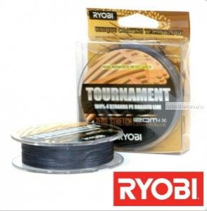 Леска плетеная Ryobi PE Tournament 4x 120 м