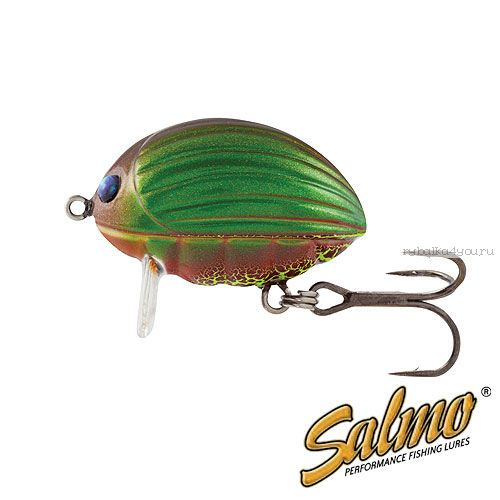 Воблер Salmo Lil Bug F 02-GBG/ 20 мм / плавающий / 2.8 гр / до 0,3 м / цвет: GBG