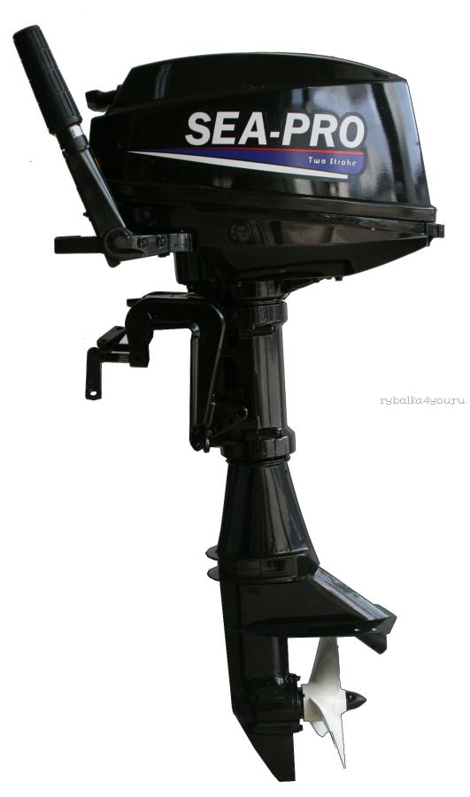 Подвесной лодочный мотор 2-х тактный SEA-PRO T9,8S / 9,8 л.с. / 27 кг.