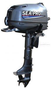 Подвесной лодочный мотор 4-х тактный SEA-PRO F6S 6 л.с. / 25 кг.