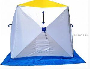 Палатка КУБ 1, трехслойная (брезент) (СТЭК - 50493)