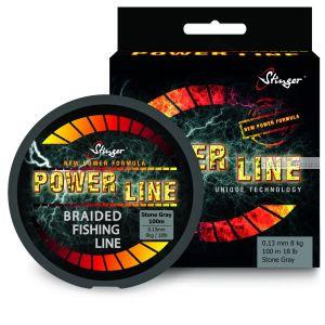 Шнур плетеный  Stinger PowerLine 150 м / цвет:St.Grey