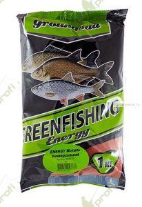 Прикормка Greenfishing ENERGY (Зима) универсальная мотыль, холодная вода,1кг