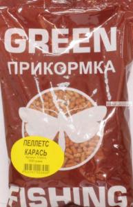 Пеллетс Greenfishing  прикормочный Карась 800 гр