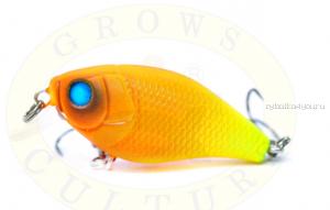 Воблер Grows Culture Chubby 38F 38мм/ 4 гр/заглубление: 0,6-1м/ цвет:Q10