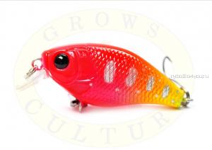 Воблер Grows Culture Chubby 38F 38мм/ 4 гр/заглубление: 0,6-1м/ цвет:R44