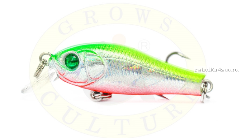 Купить Воблер Grows Culture Laker GC-1173B 35F 35мм/ 2 гр/заглубление: 0,3-0,8м/ цвет: Q17