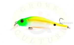 Воблер Grows Culture Swim Bait 80F 80 мм/ 6 гр/заглубление: 0,5 - 1,2 м/ цвет: Q8