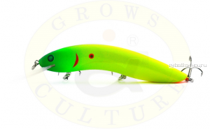 Воблер Grows Culture Flathead 120F 120 мм/ 13 гр/заглубление: 5+ м/ цвет: Q5