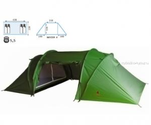 Палатка Reisen Nayzer 4 (woodland)