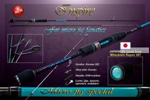 Спиннинг Crazy Fish INSPIRE I-662 L-T (2-12g 200сm 2-8lb)