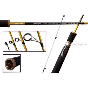 "Спиннинг Crazy Fish Ebisu Gold  SG712L Light game (3-7g 215cm 7'1"")"