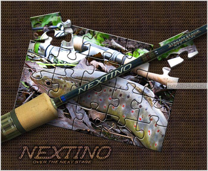 Спиннинг  Major Craft Nextino Stream Category NTS-522L 1.57м / тест 2-10гр