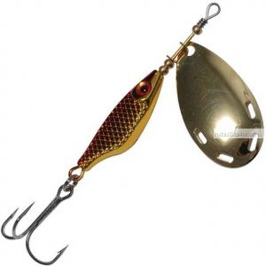 Блесна Extreme Fishing Obsolute Obsession №4 / 15 гр / цвет:  11-G/Red/G