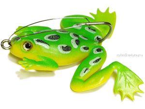 Незацепляйка Kosadaka мягкая оснащ. тонущая Лягушка с лапами LF27 50мм/ 10гр / цвет: С72