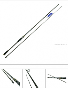 Спиннинг Kaida Conquer 2,44 м/ тест 15-62 гр/ арт: 752-1562-244